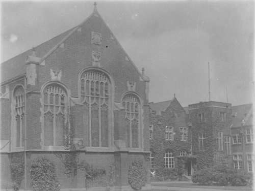 Big School in 1924